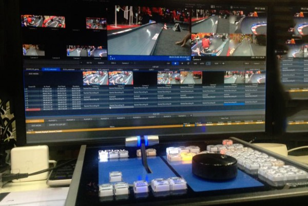 レーシングホビーの現場では3Play 4800のスローモーションが大活躍