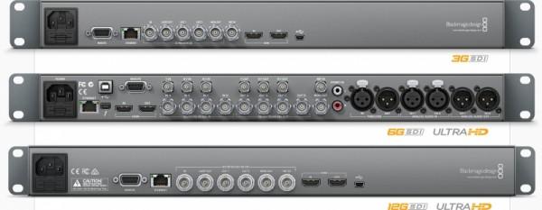 プロ仕様のビデオインターフェース SD、HD、Ultra HD機器に接続