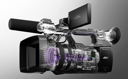 SONY PXW-Z100 4K対応高画質レンズ
