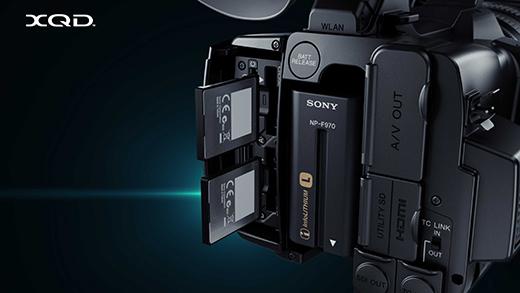 PXW-Z100 記録メディアにXQDメモリーカードを採用