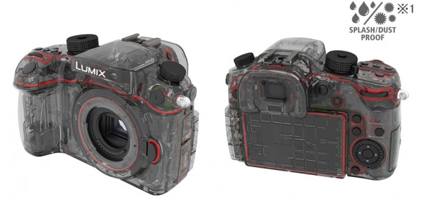 防塵・防滴 フィールド撮影環境でも耐えうる防塵・防滴構造設計