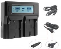 Blackmagic Video Assist バッテリー充電器