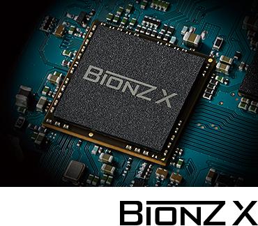 画質処理能力がアップ。新世代の高速画質処理エンジン「BIONZ X」