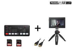 Blackmagic Design ATEM Mini  + Blackmagic Video Assist (5インチモニター + 録画機能)