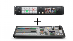 BlackMagic Design ATEM Constellation 8K + ATEM 2M/E Broadcast Panel セット