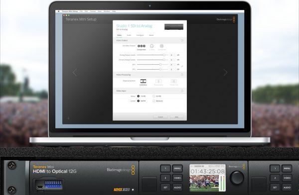 Teranex Miniの特徴-設定が簡単