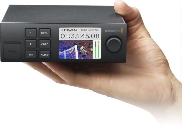 12G-SDIをクアッドリンクSDIに変換するコンバーター