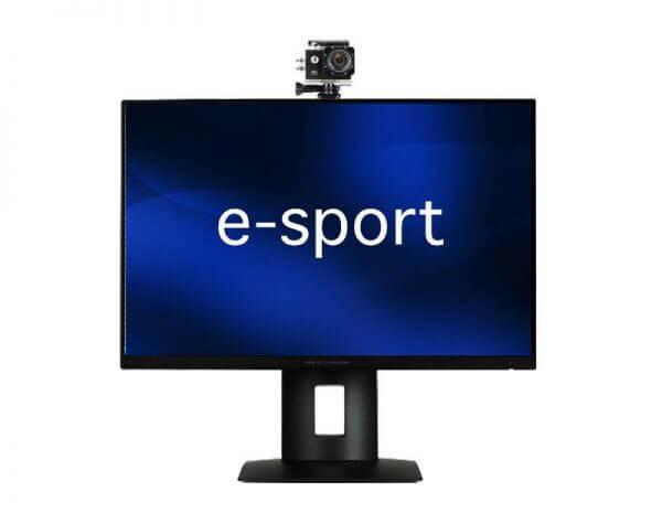 eSports Player Camera とMonitor