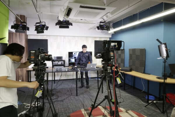 4K60p URSA Broadcastを利用して撮影中