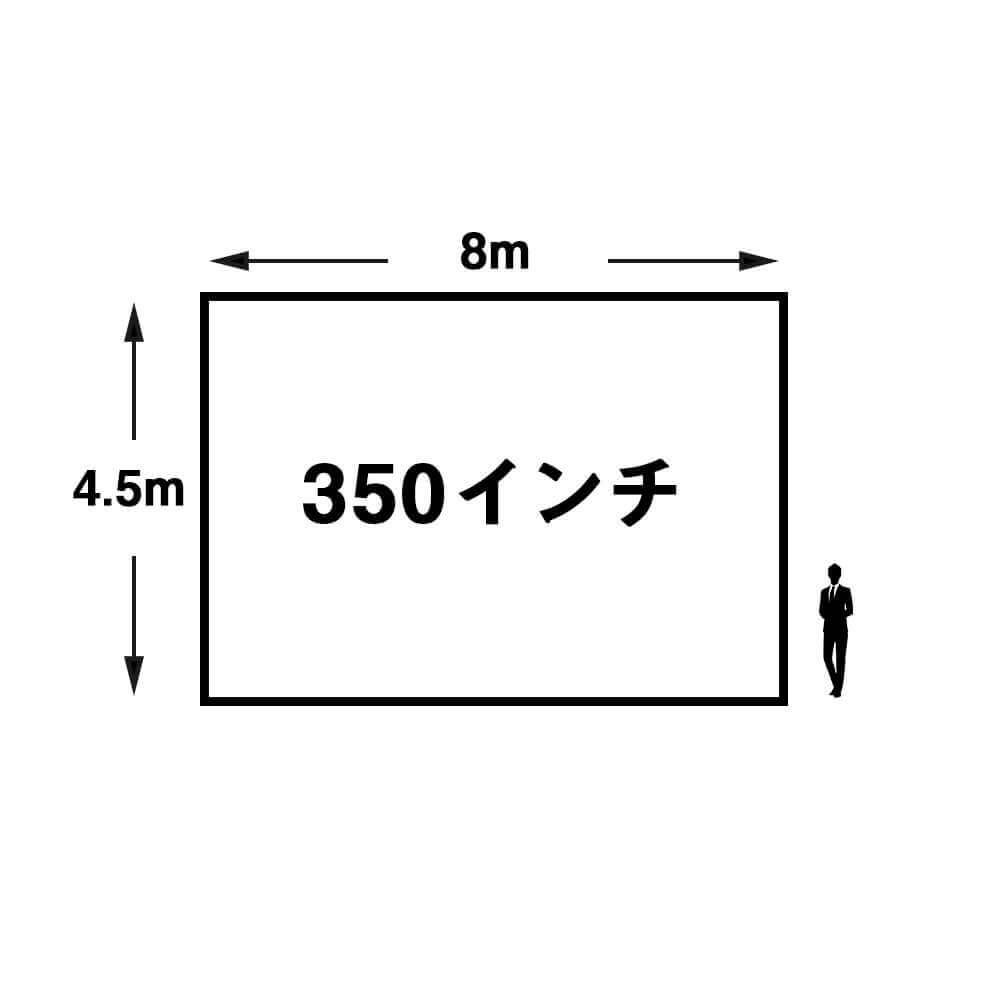350インチ