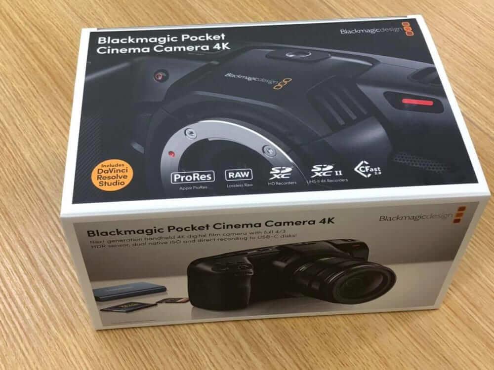 即納在庫1台限定にてあります:Pocket Cinema Camera 4K